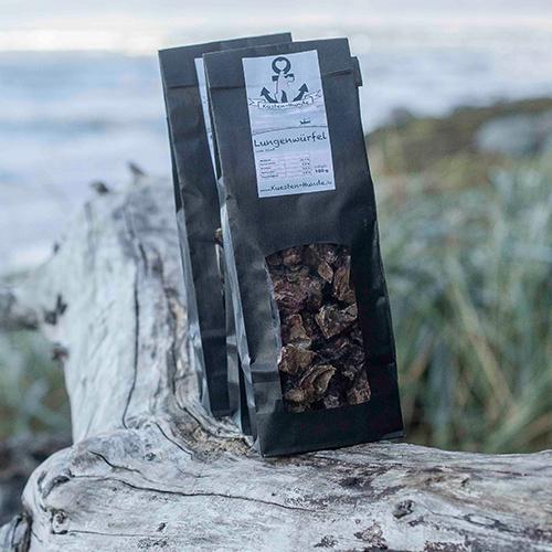 Küsten Hunde - Hundenahrung - Rinderlungenwürfel